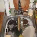 Прочистить канализацию на кухне