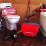 прочистка канализации в квартире, туалете, раковине
