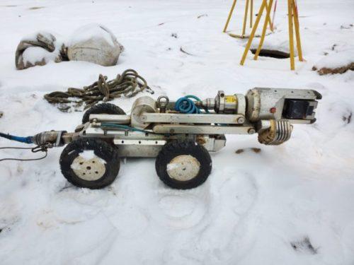 Диагностика канализации роботом